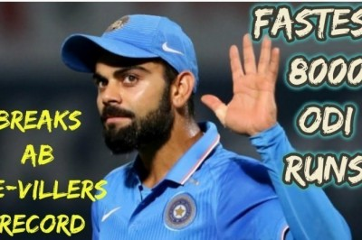 World Records Held By Virat Kohli In All The Formats