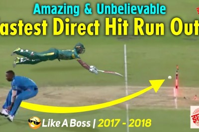 Top 10 Amazing & Fastest Direct Hit Run outs in Cricket History Ever Like a Boss Direct Hit Wickets