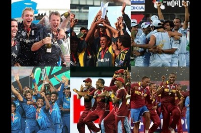 T20I World Cup Winners from 2007 -2016