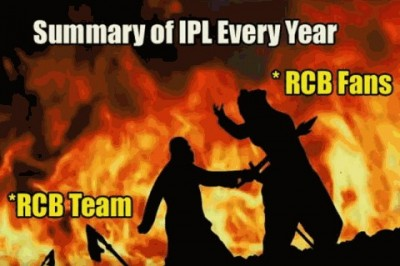 Funny Memes On RCB after the loss.
