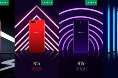 Oppo R15 Preview