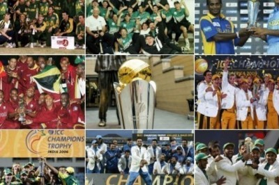ICC CHAMPIONS TROPHY (ICC KNOCKOUT)- WINNERS