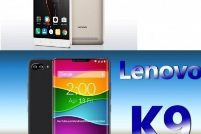 Lenovo K9 Note vs  Lenovo k9 plus
